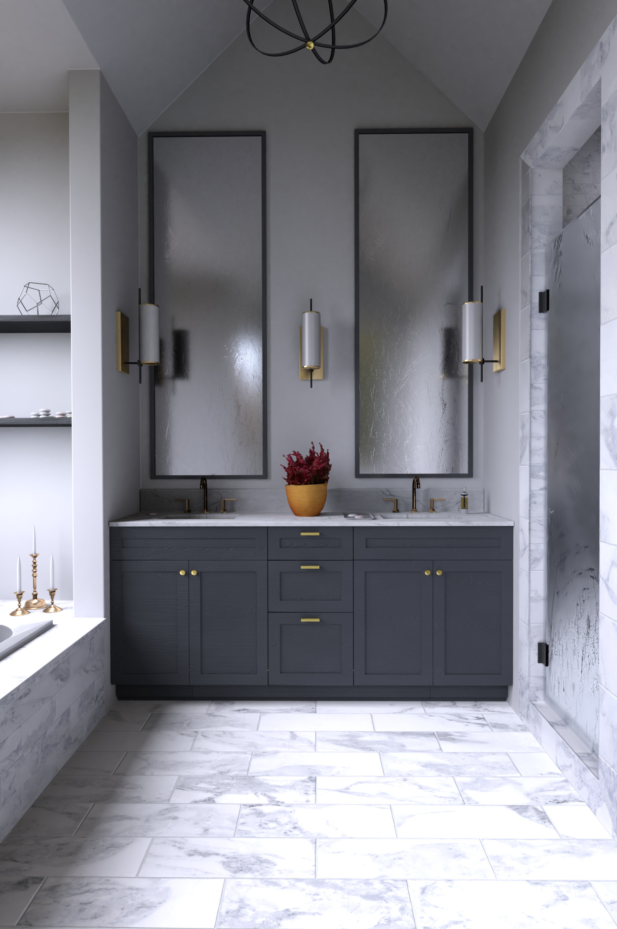 Max Stetina Contemporary Bathroom