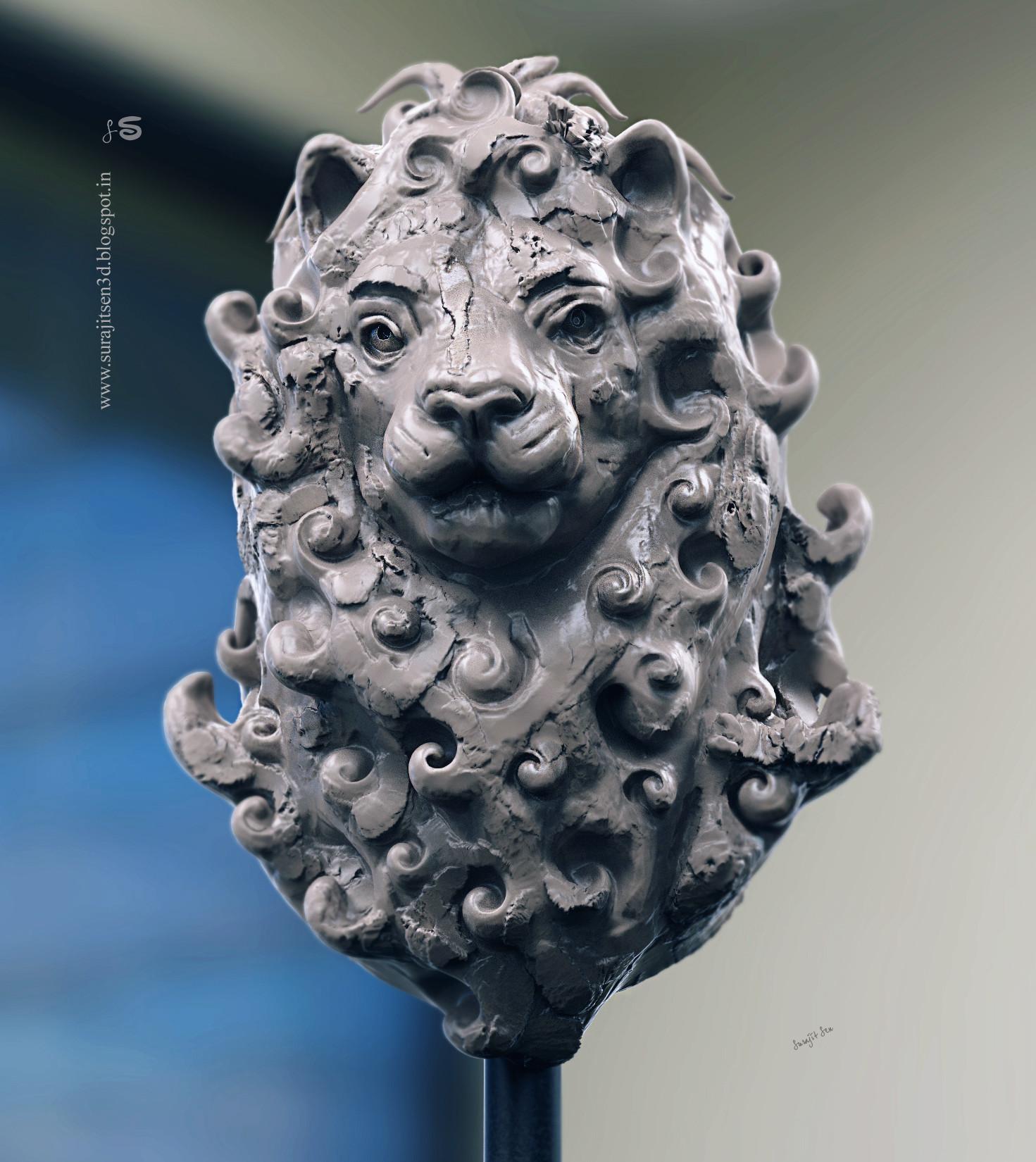 Surajit sen leo speed sculpt by surajitsen 06102018