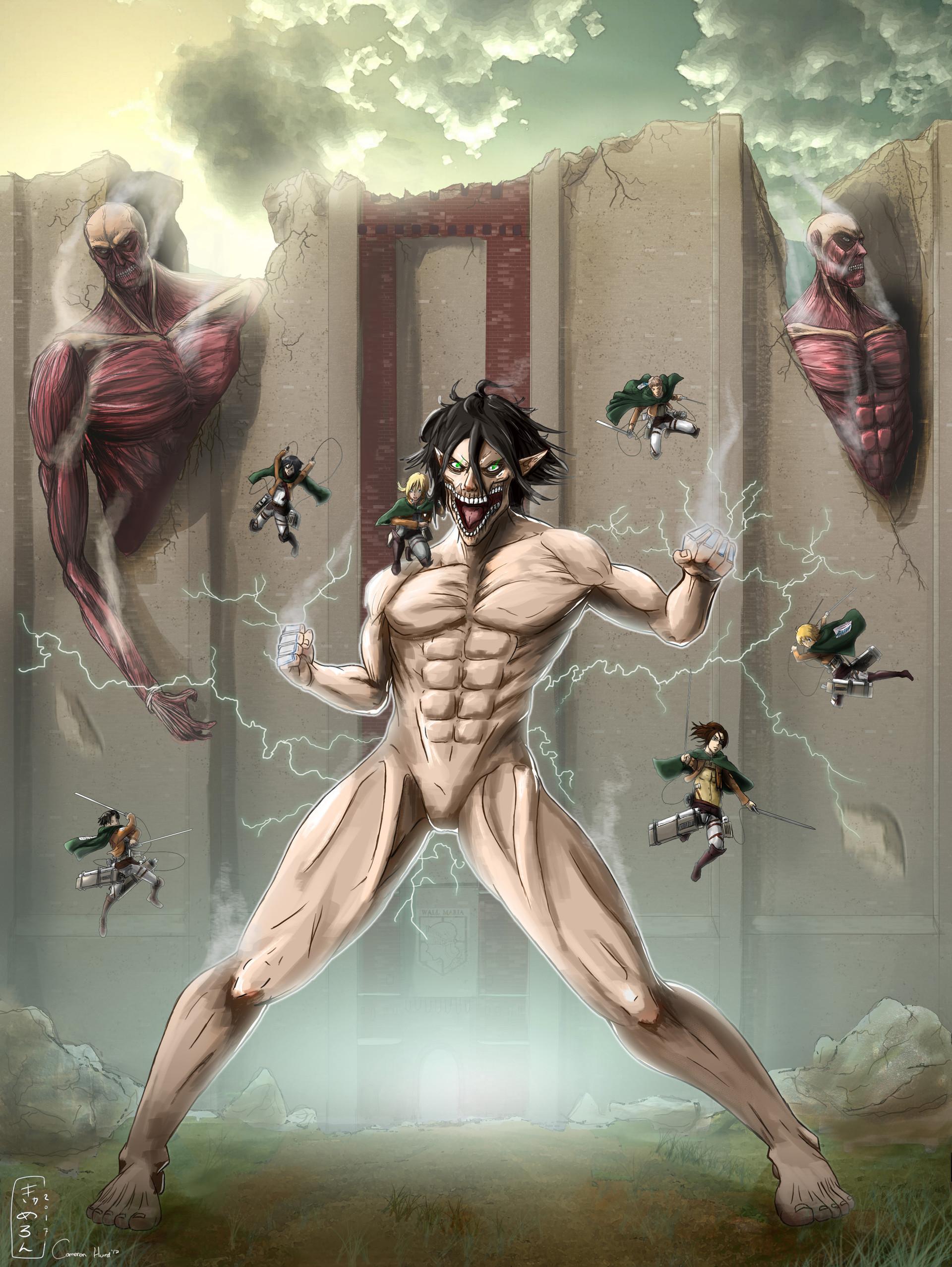 Cameron Hurd - Attack On Titan FanArt