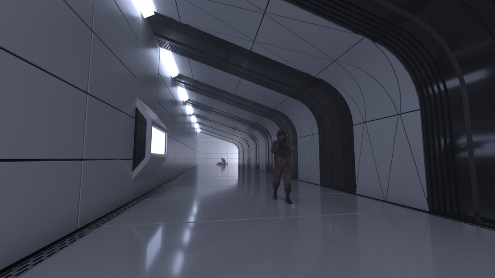 Corridor 3D sketch