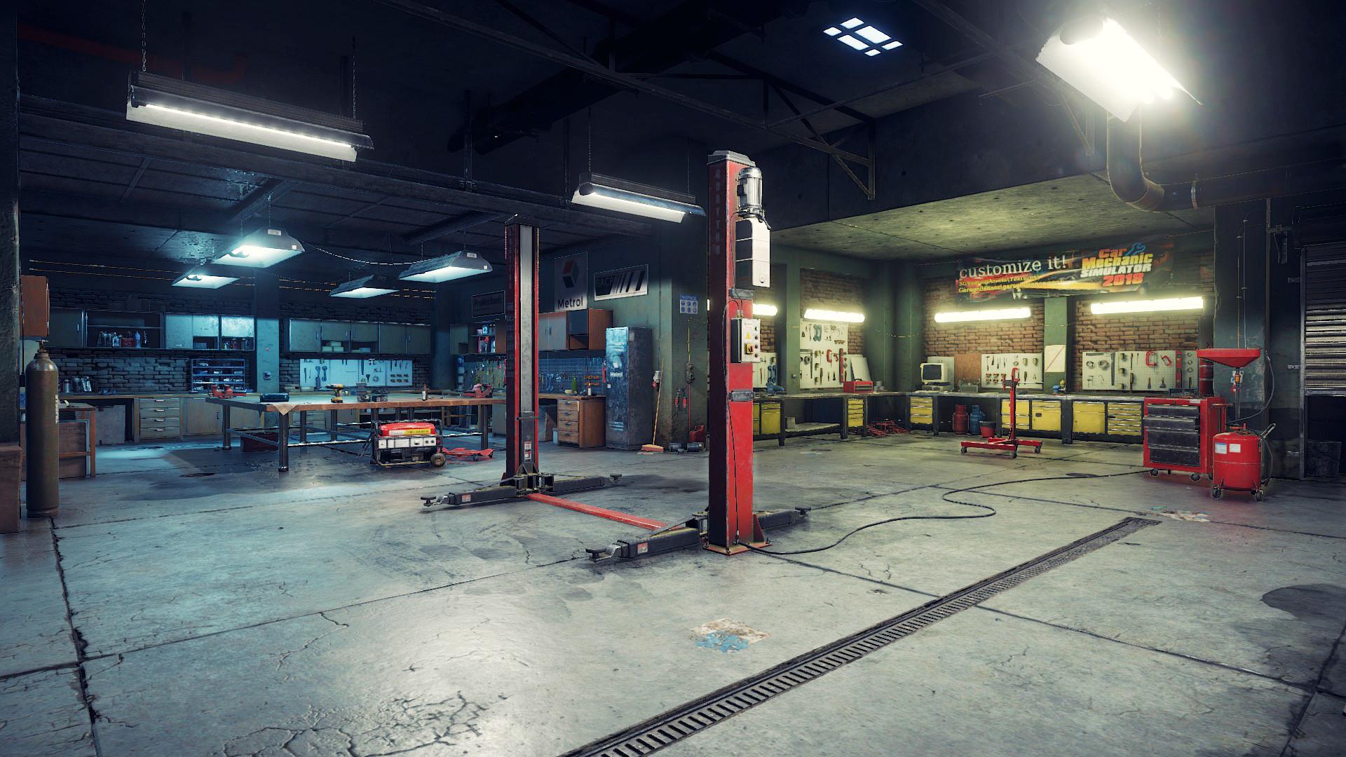 ArtStation - Car mechanic simulator 2018 - Garage