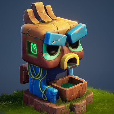 Angry Totem Fountain