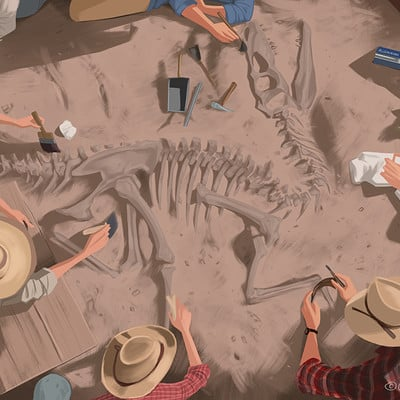 Christopher ables jurassic park 3 montana dig site