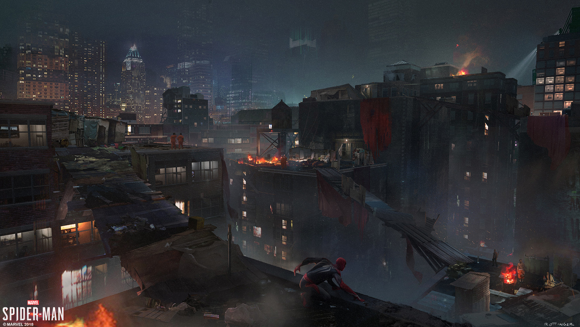 Blake rottinger prisoner base rooftops port