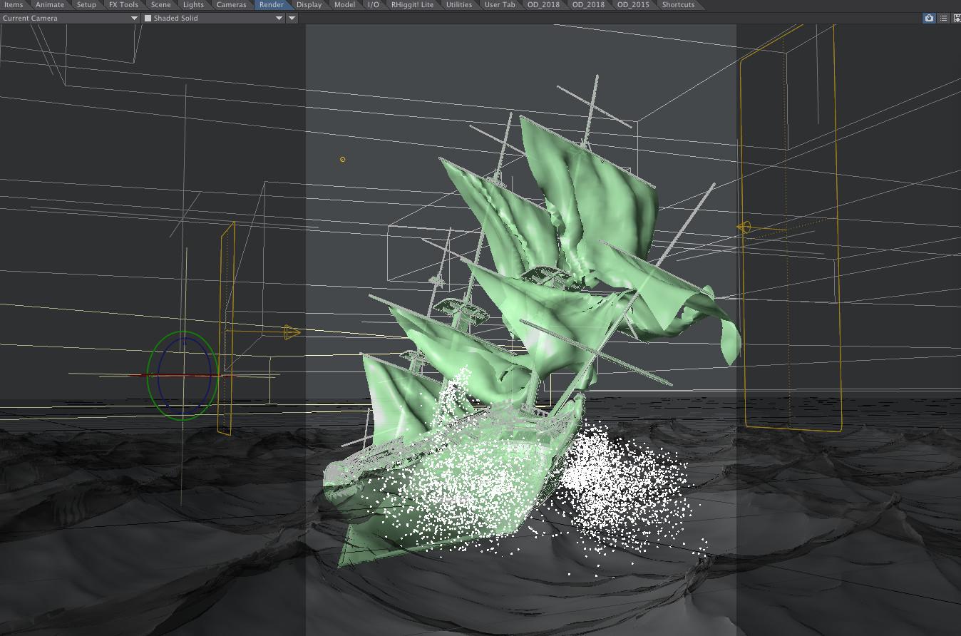 Final layout settings before render.