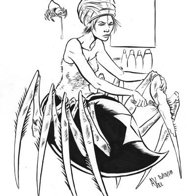 Axel medellin 2596 spider