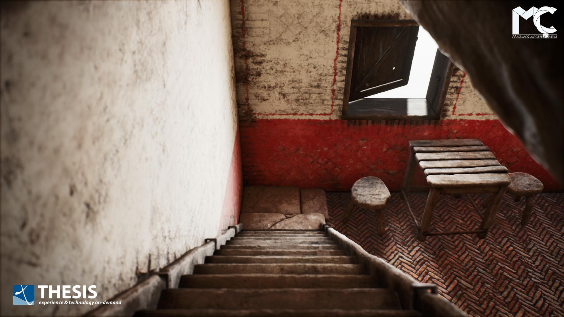 2nd room (Unreal Engine 4).