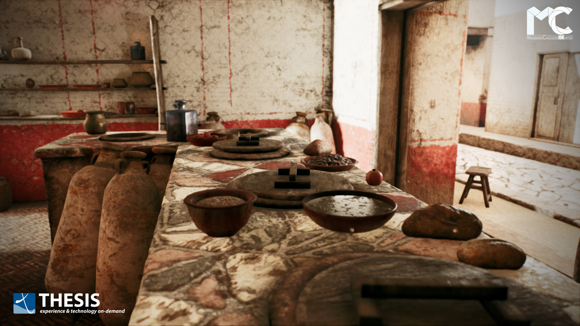 1st room (Unreal Engine 4).