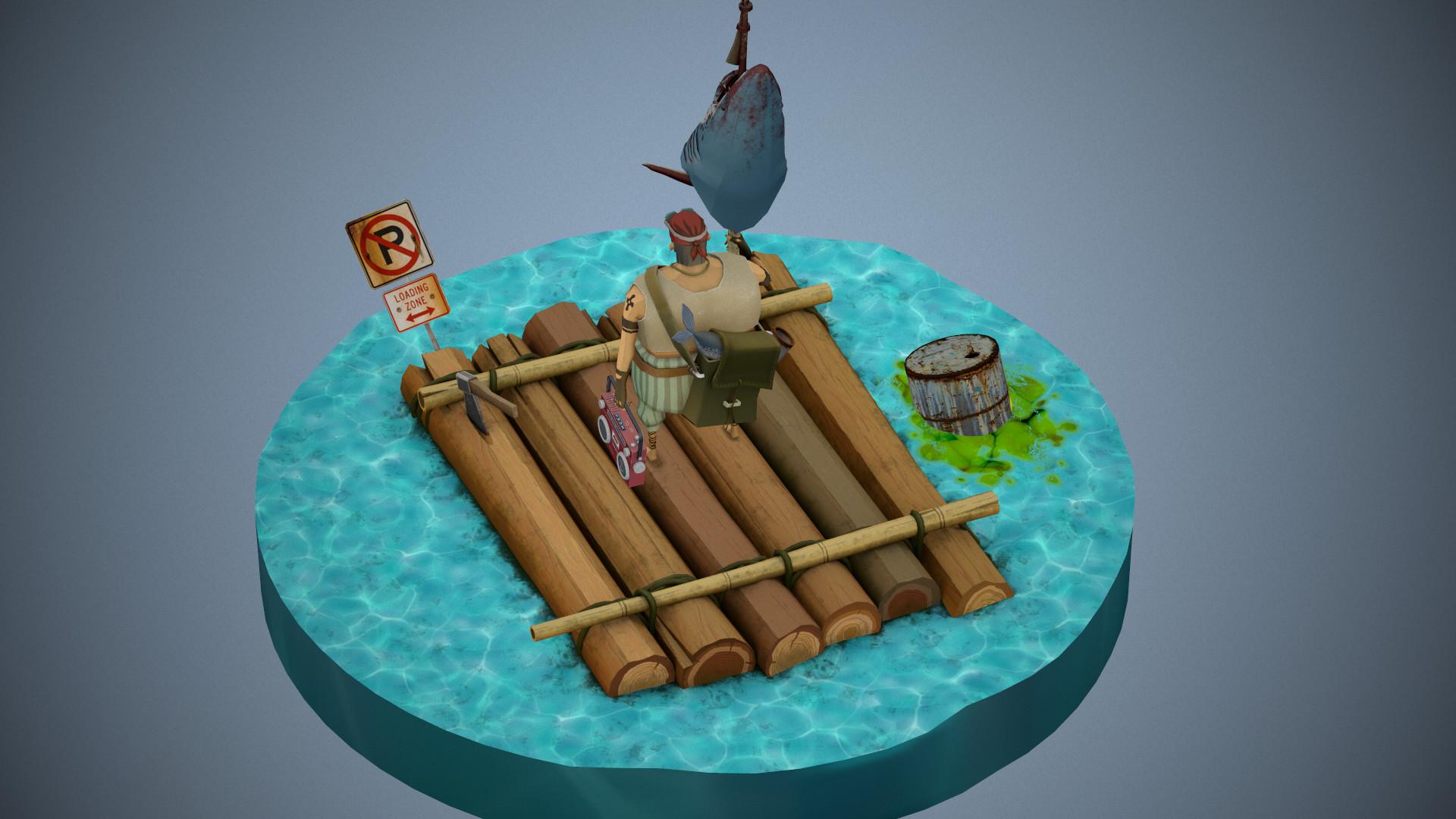 Artstation Pirate Concept Max Garena 50000