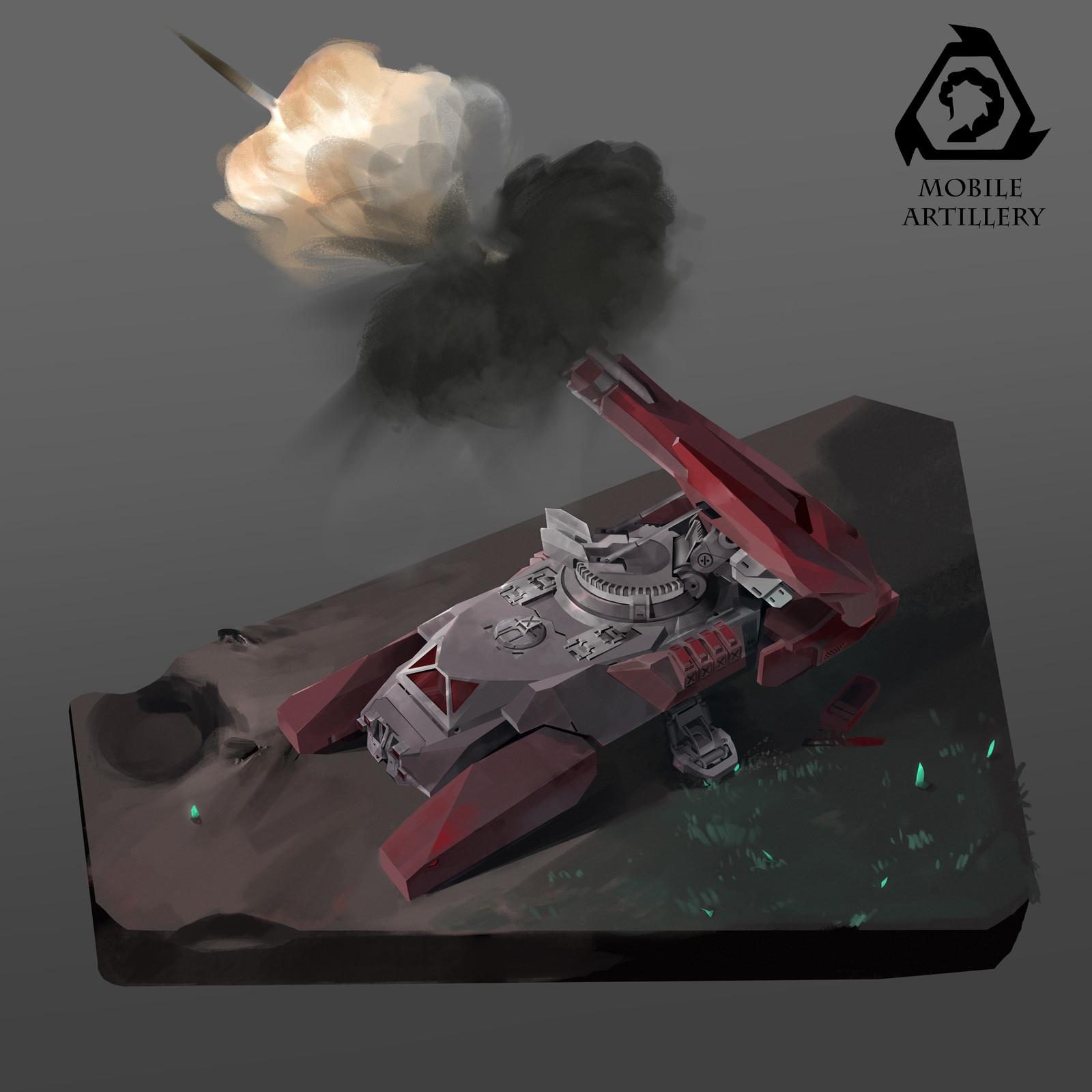 NOD_Mobile Artillery