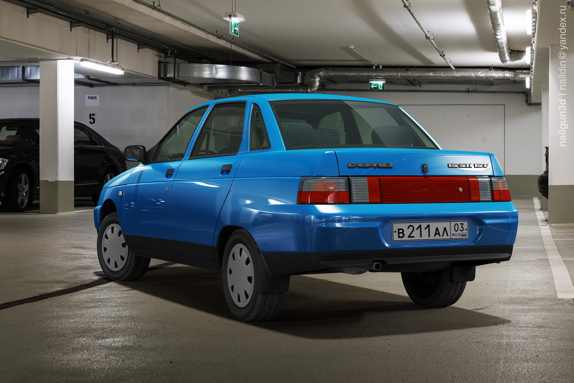 Nail khusnutdinov als 226 010 vaz 2110 rear view 3x