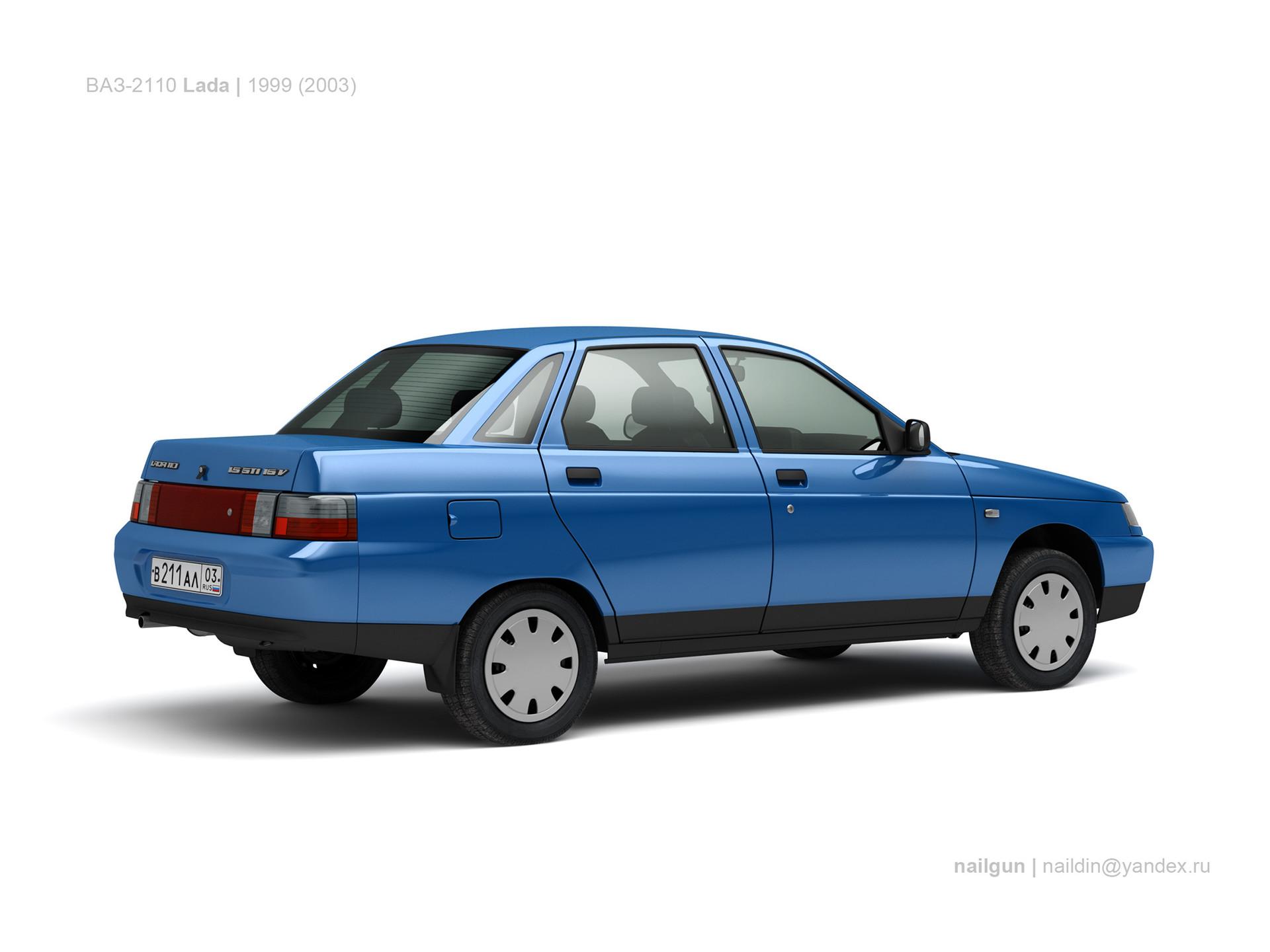 Nail khusnutdinov ussr vaz russia vaz 2110 lada 1999 1
