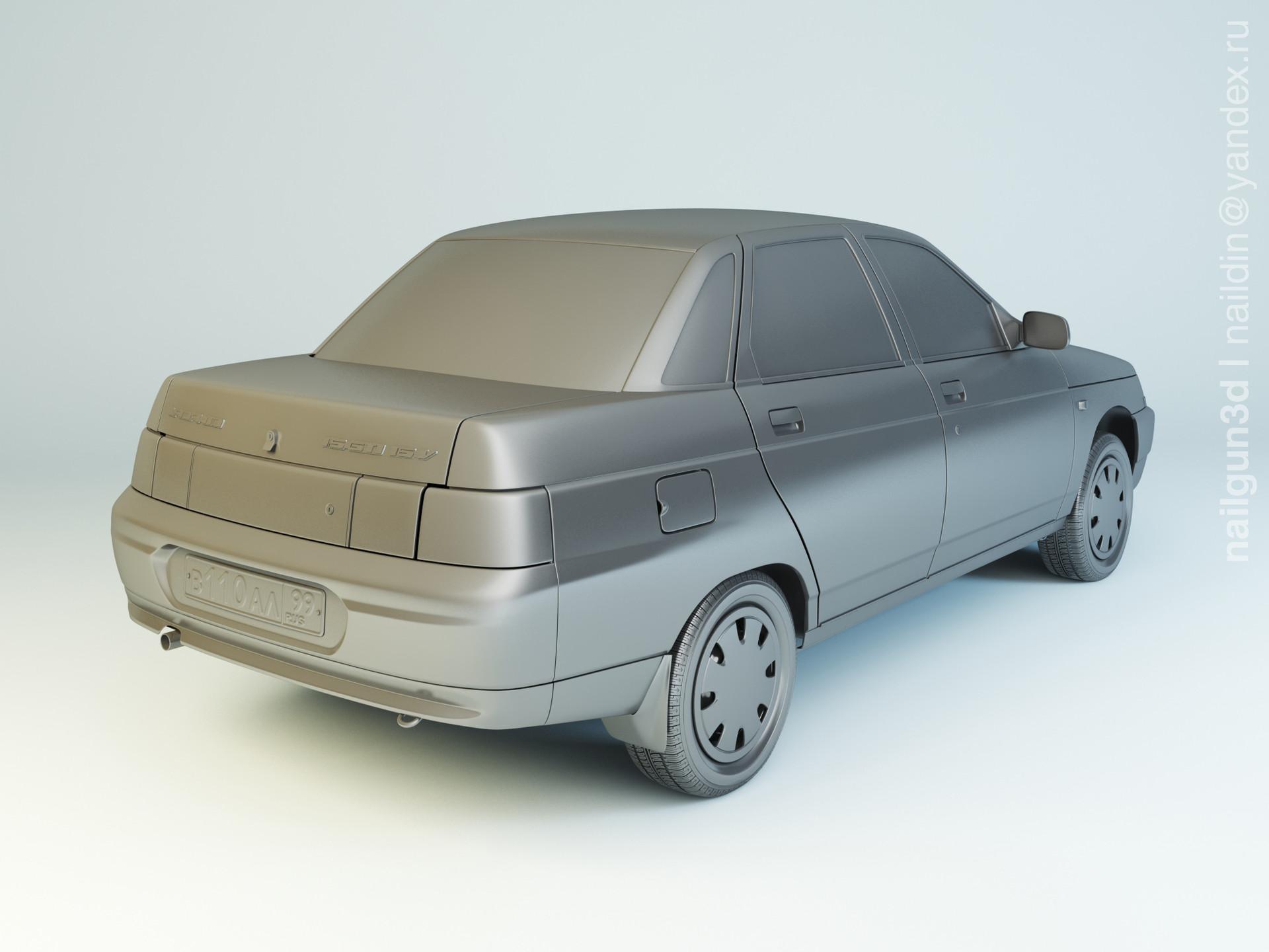 Nail khusnutdinov als 226 001 vaz 2110 modelling 1