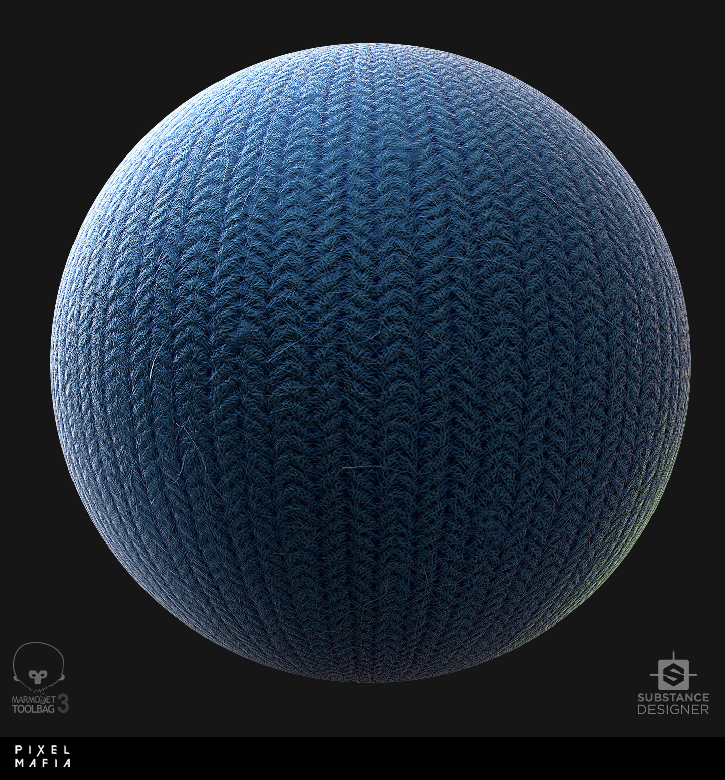 ArtStation - Wool material (substance designer) , John Dary