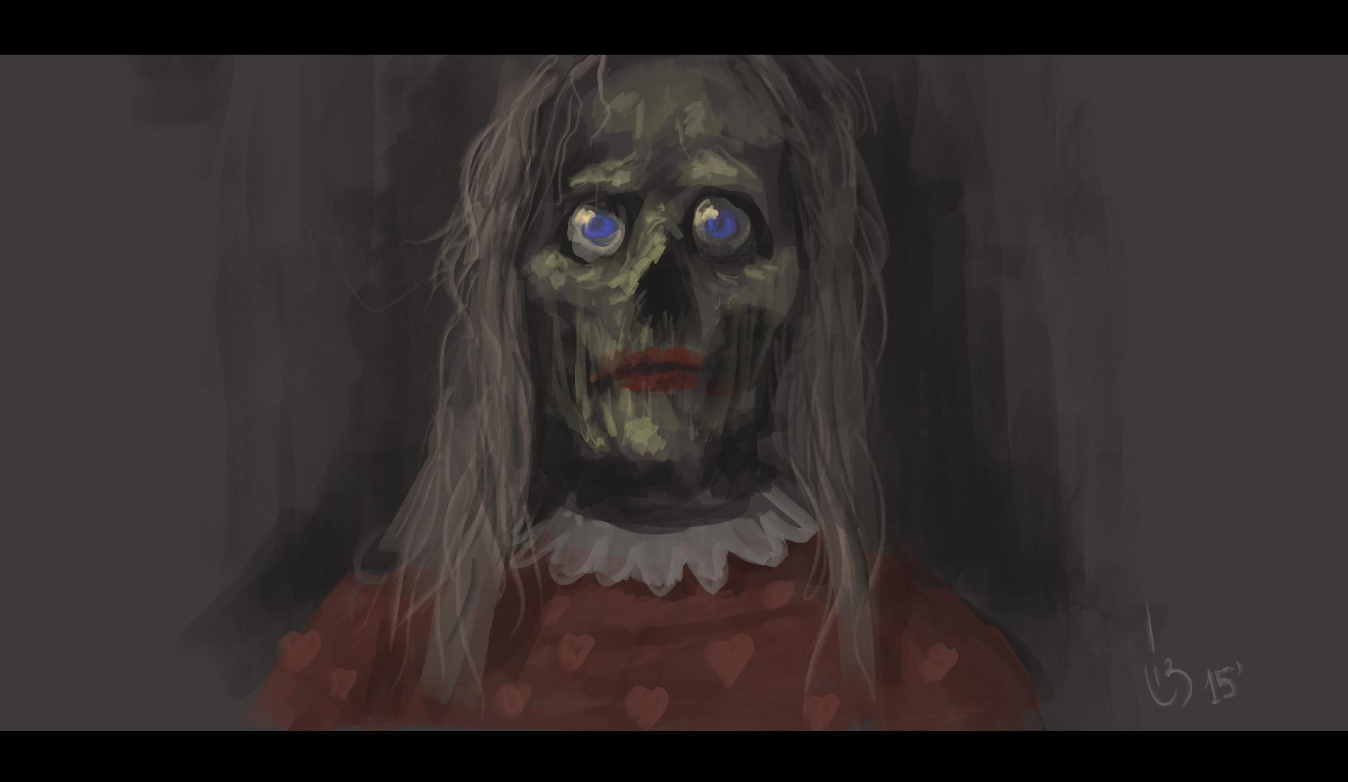 Lizartonne dani rodriguez palacios creepy lady2