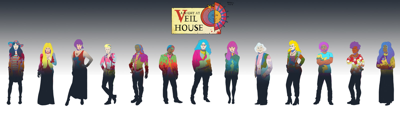 Veil House Character Portraits
