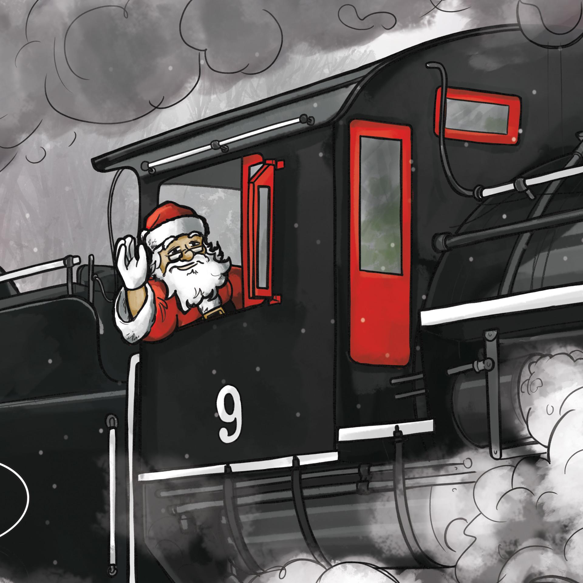 Graham moogk soulis wcr christmas book cover 2014 santa