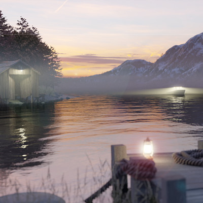 Greg hewitt boathouse comp8b