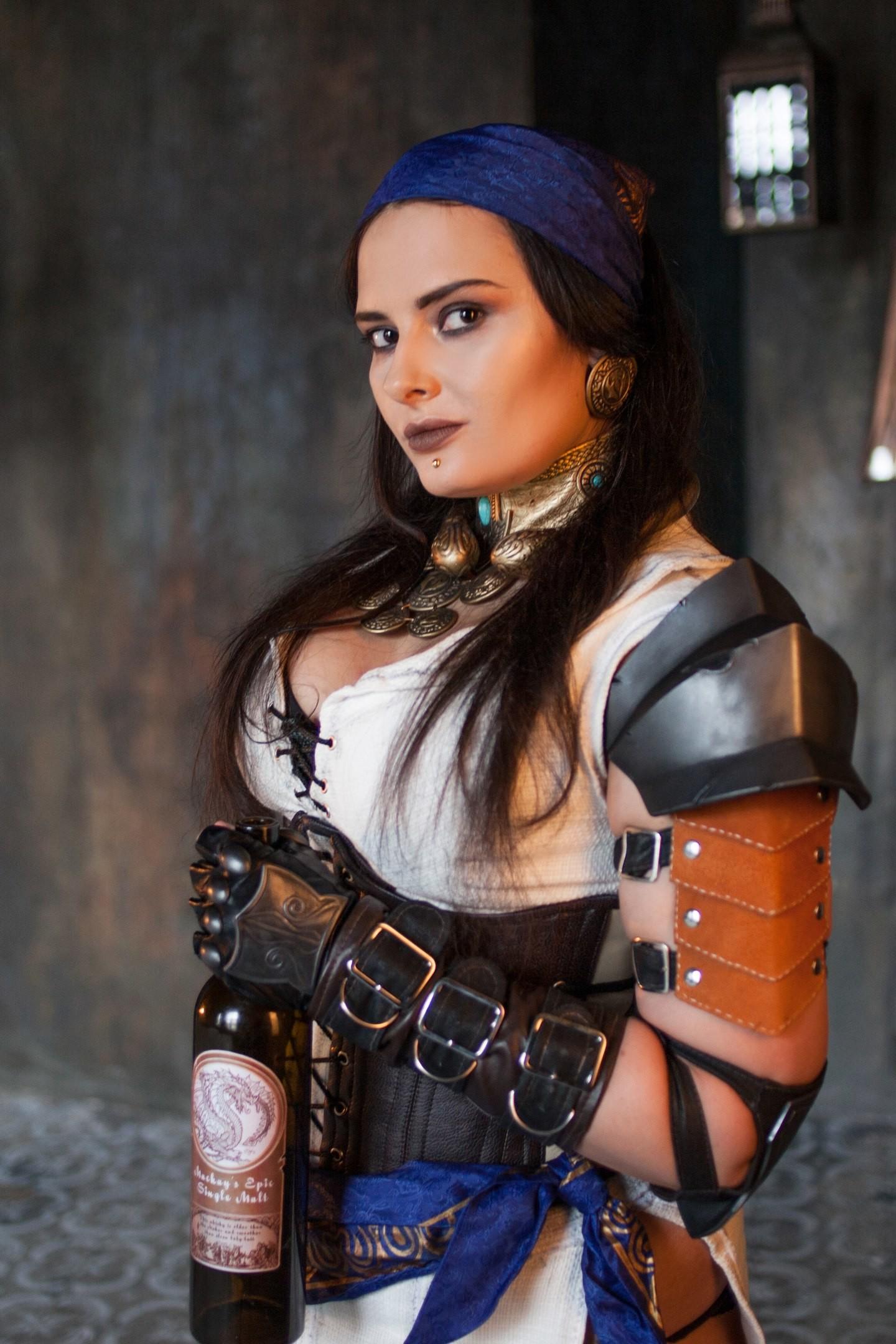 Artstation Isabela Costume Parts Dragon Age 2 Anastasia Kosareva