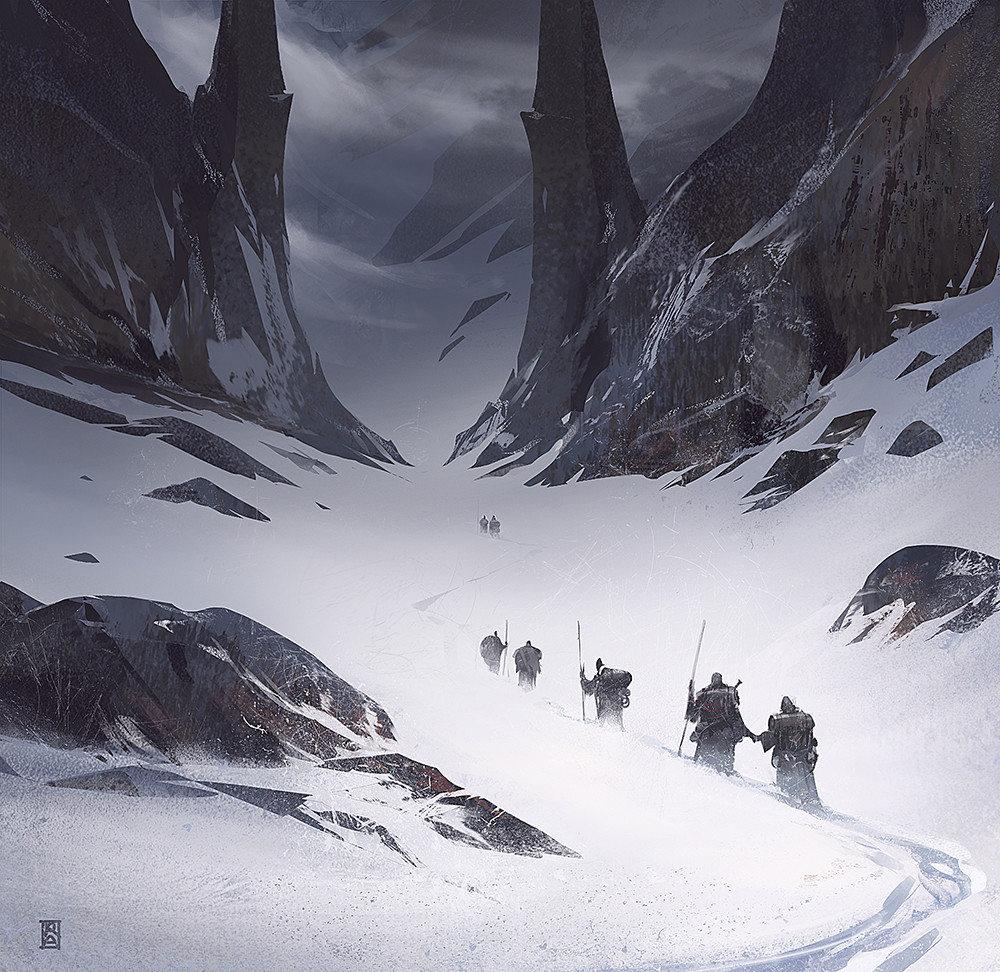 Reza afshar mountain path