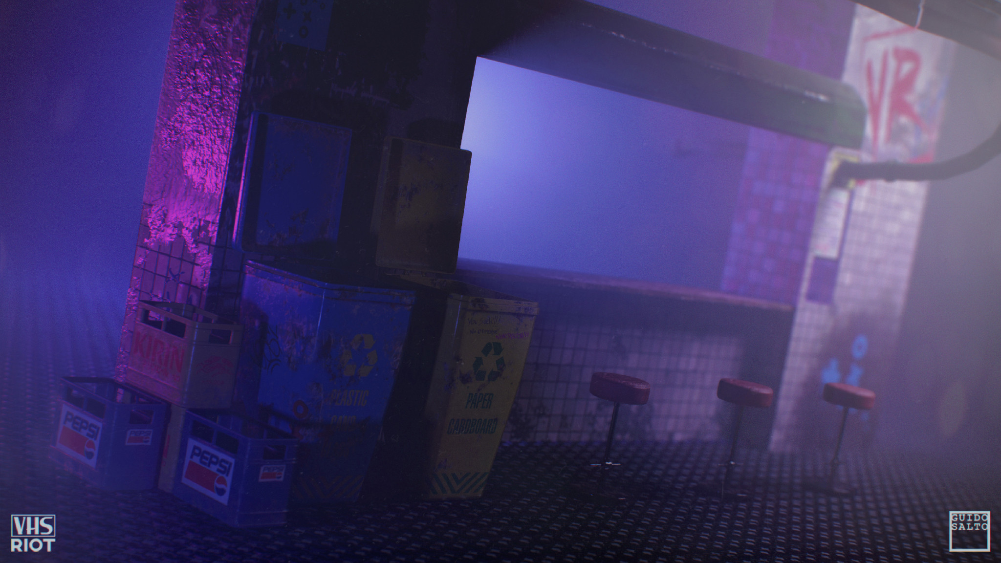 Bar and props