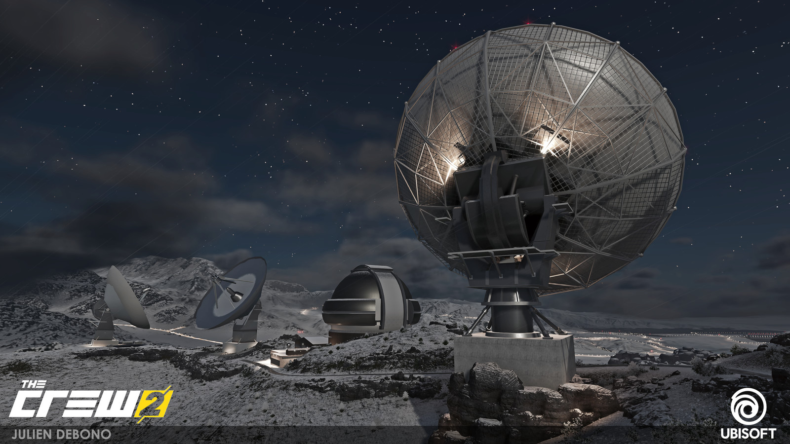 Pikes Peak - Radar Antennas