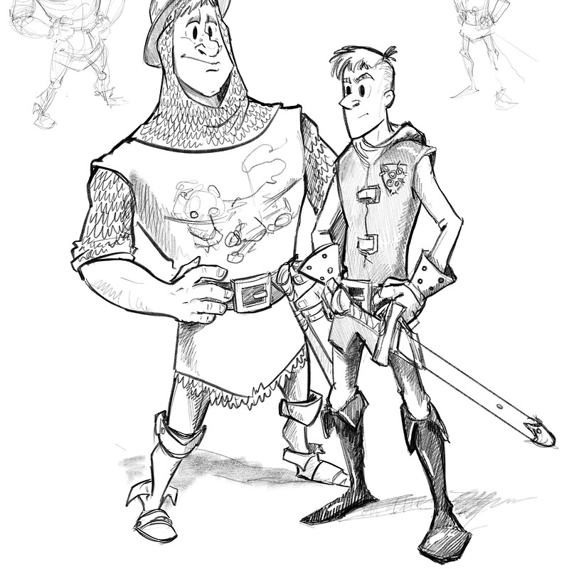 The White Company sketches