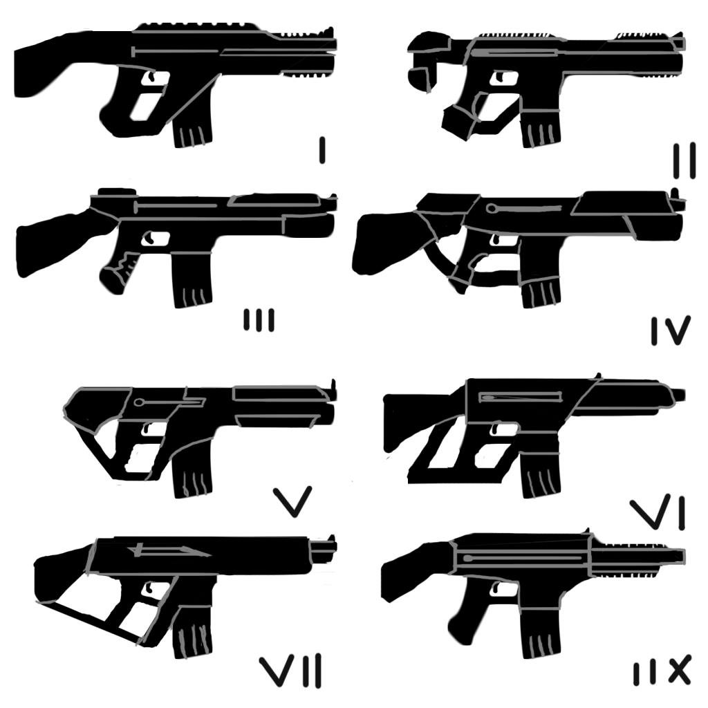 Concept sketches of overall design