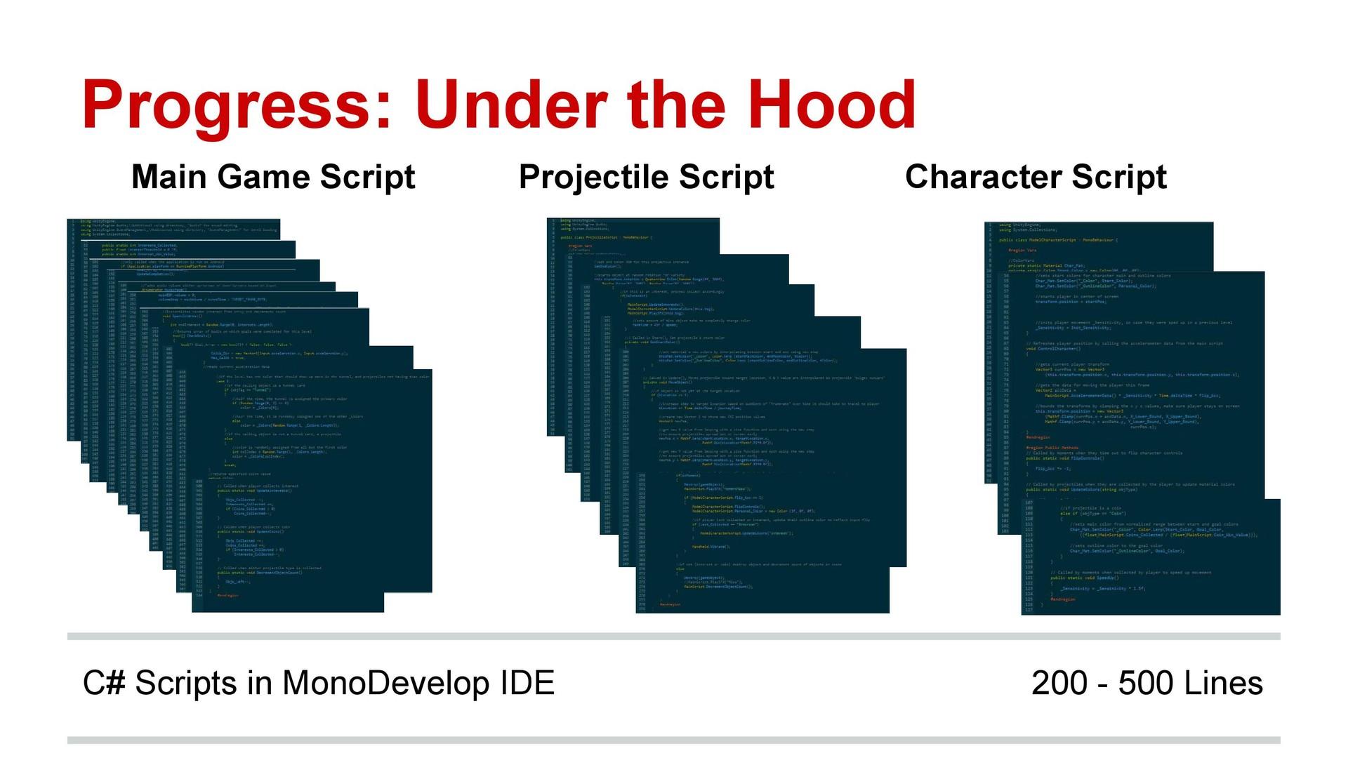 C# Game Scripting Progress