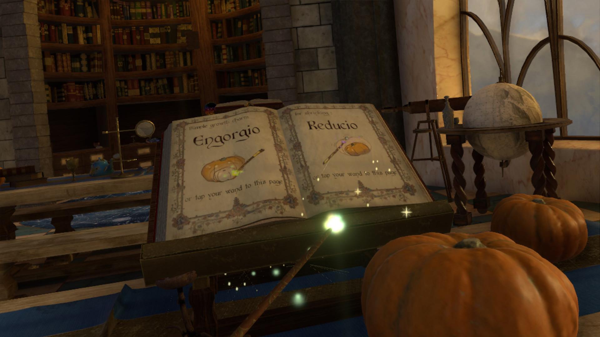 In-game screen capture - spellbook