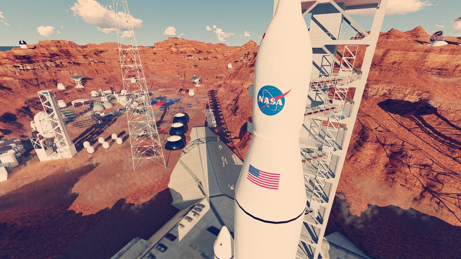 "MARS PROJECT  Martian space base  designed by Serdar Çakmak  Pixani Studios   a NASA & Pixani project ""BEYOND"""