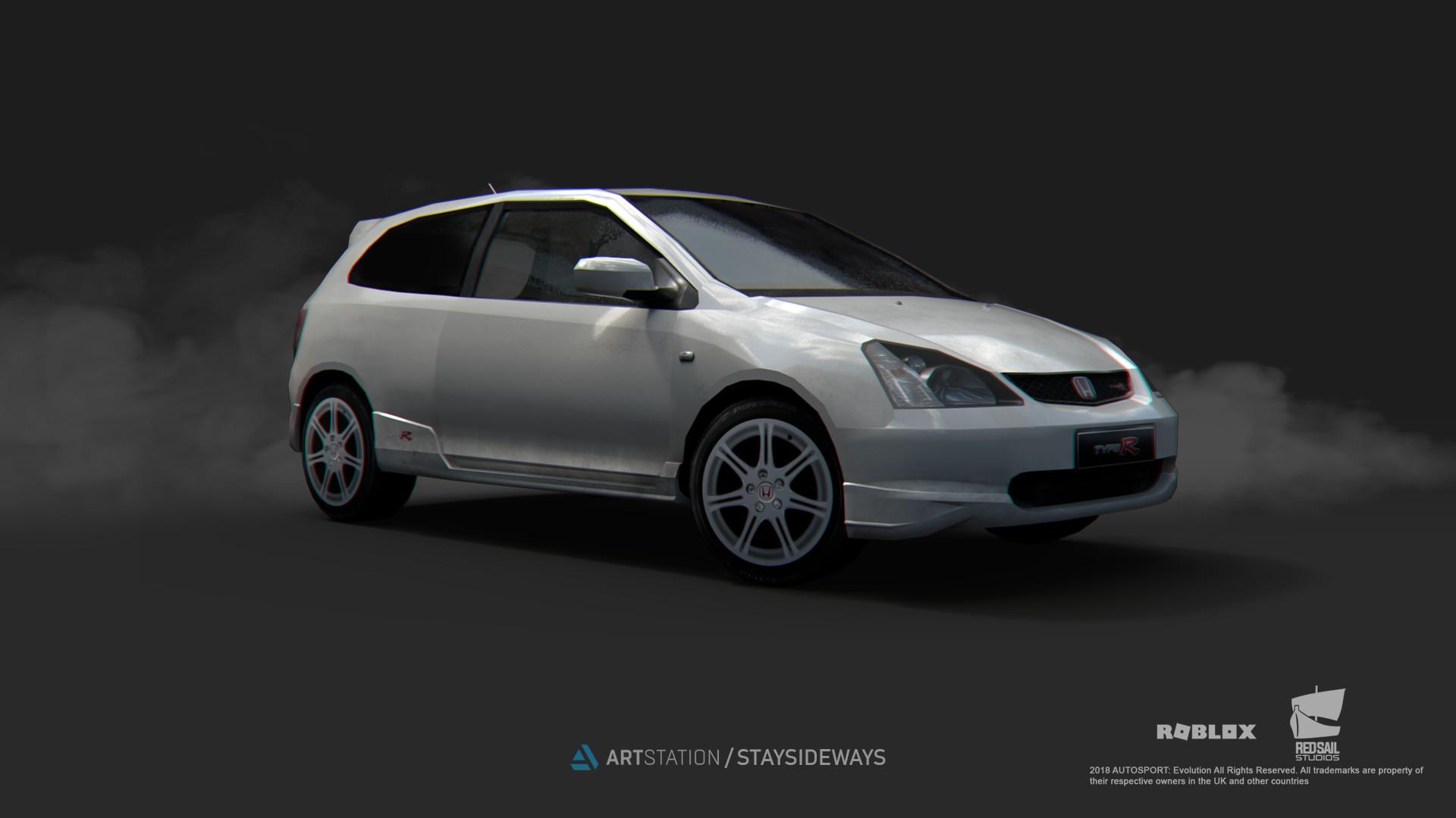 ArtStation - 2002 Honda Civic Type-R EP3, Zohaib Abdullah