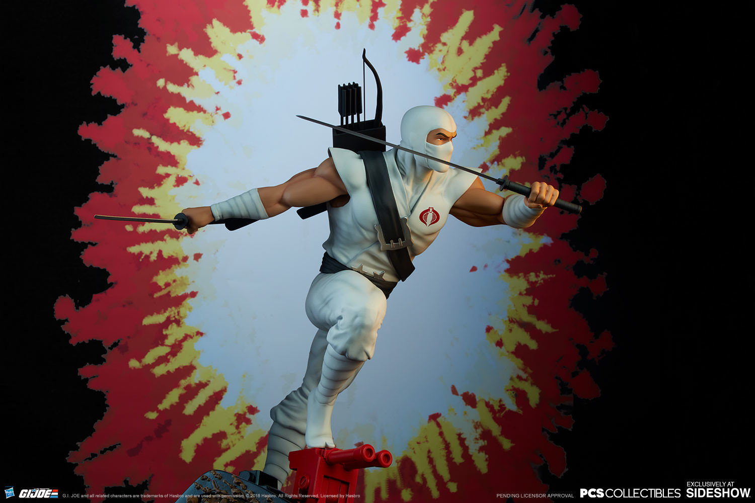 Brodie perkins gi joe storm shadow statue pop culture shock 903808 25