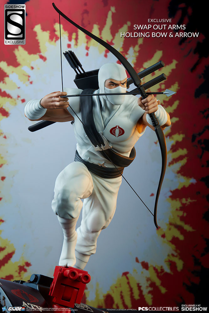 Brodie perkins gi joe storm shadow statue pop culture shock 9038081 01
