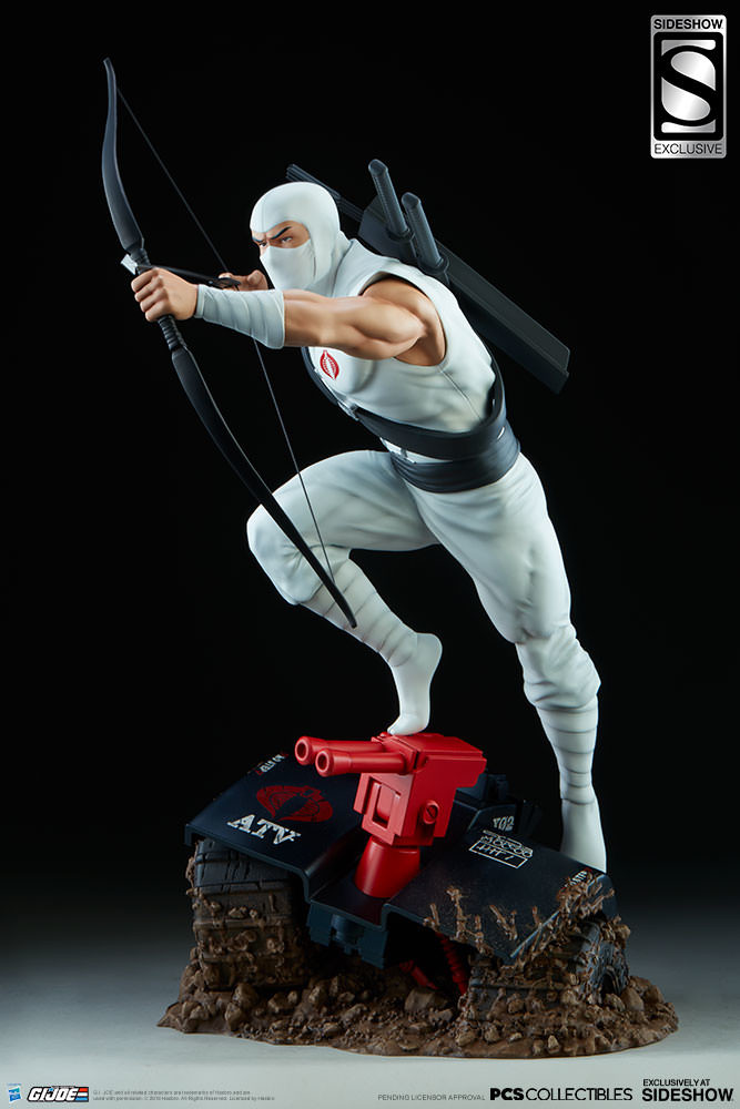 Brodie perkins gi joe storm shadow statue pop culture shock 9038081 02