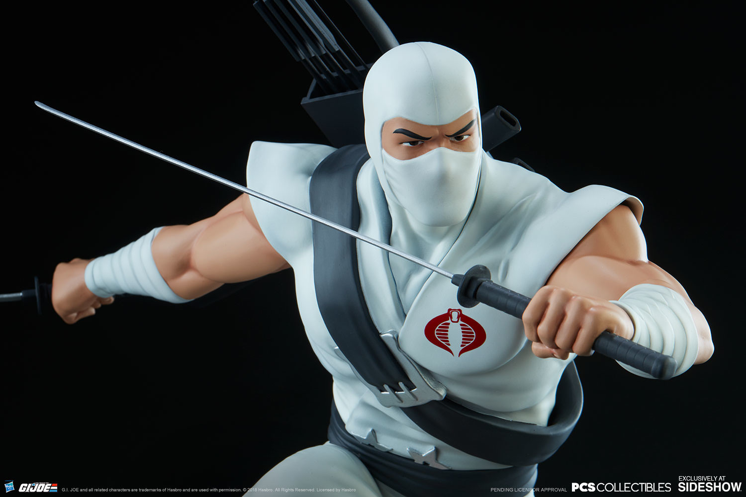 Brodie perkins gi joe storm shadow statue pop culture shock 903808 12
