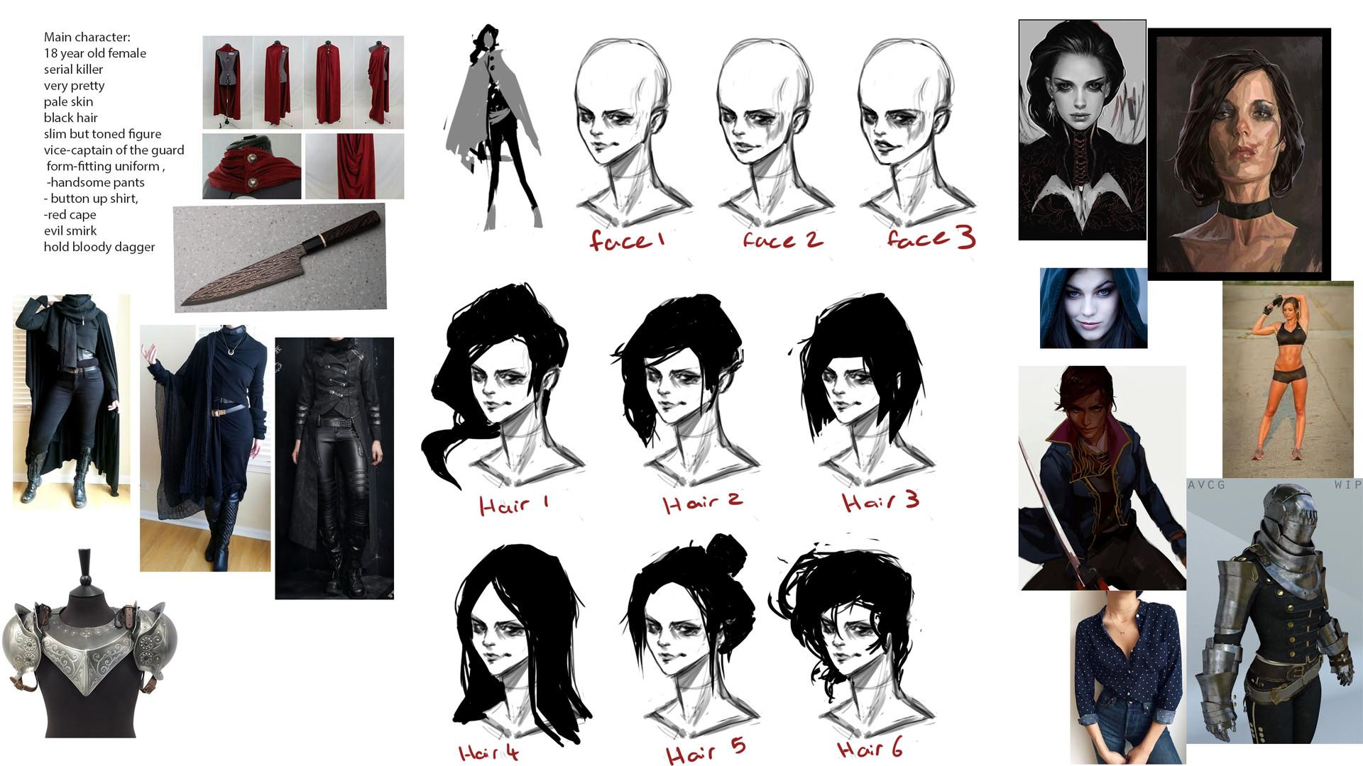 Anthea zammit mmm main face hair design