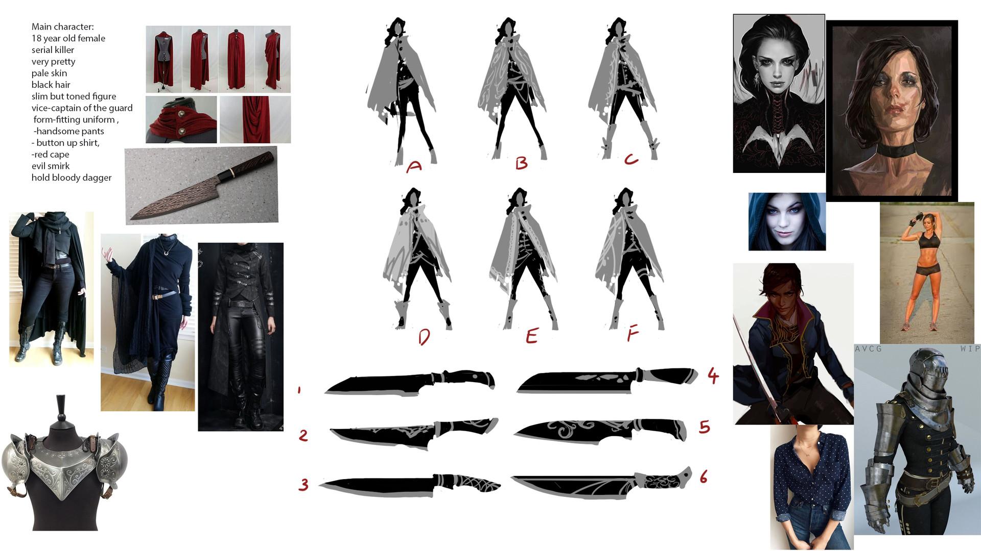 Anthea zammit mmm main outfit design knife