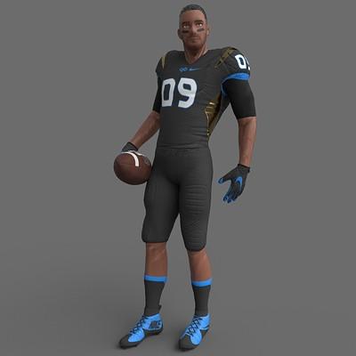 Ladema ipan footballplayer