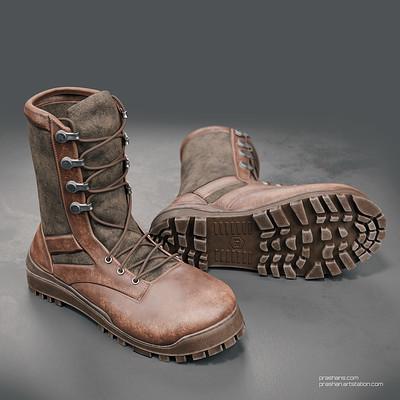 Boots - Medium-high poly