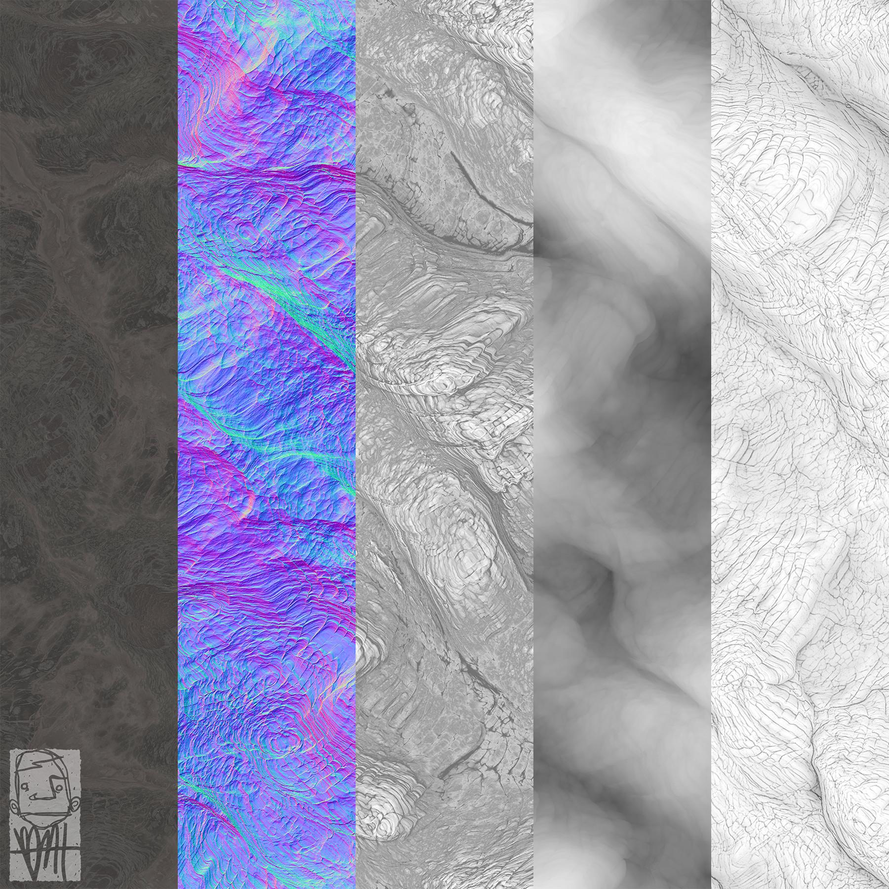 Brett marshall tucker molten lava maps