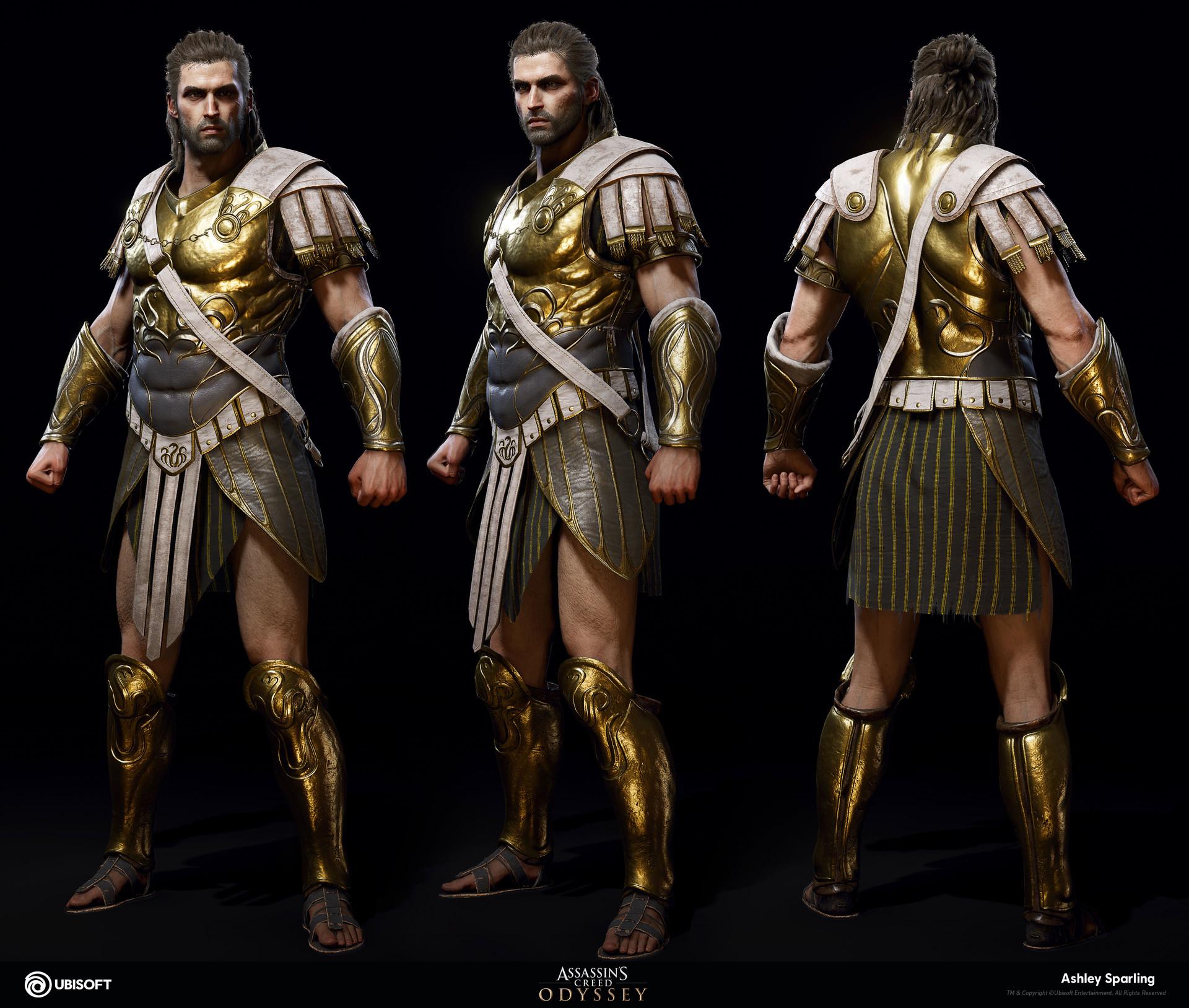 Artstation Deimos Assassin S Creed Odyssey Ashley Sparling