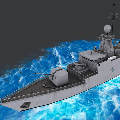 Ladema ipan warship corvette class 1