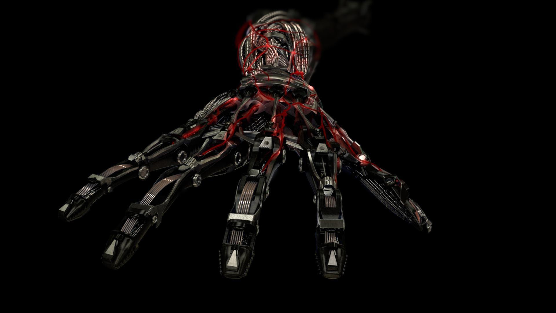 mechanical arm, did at mill few years ago, verizon spot