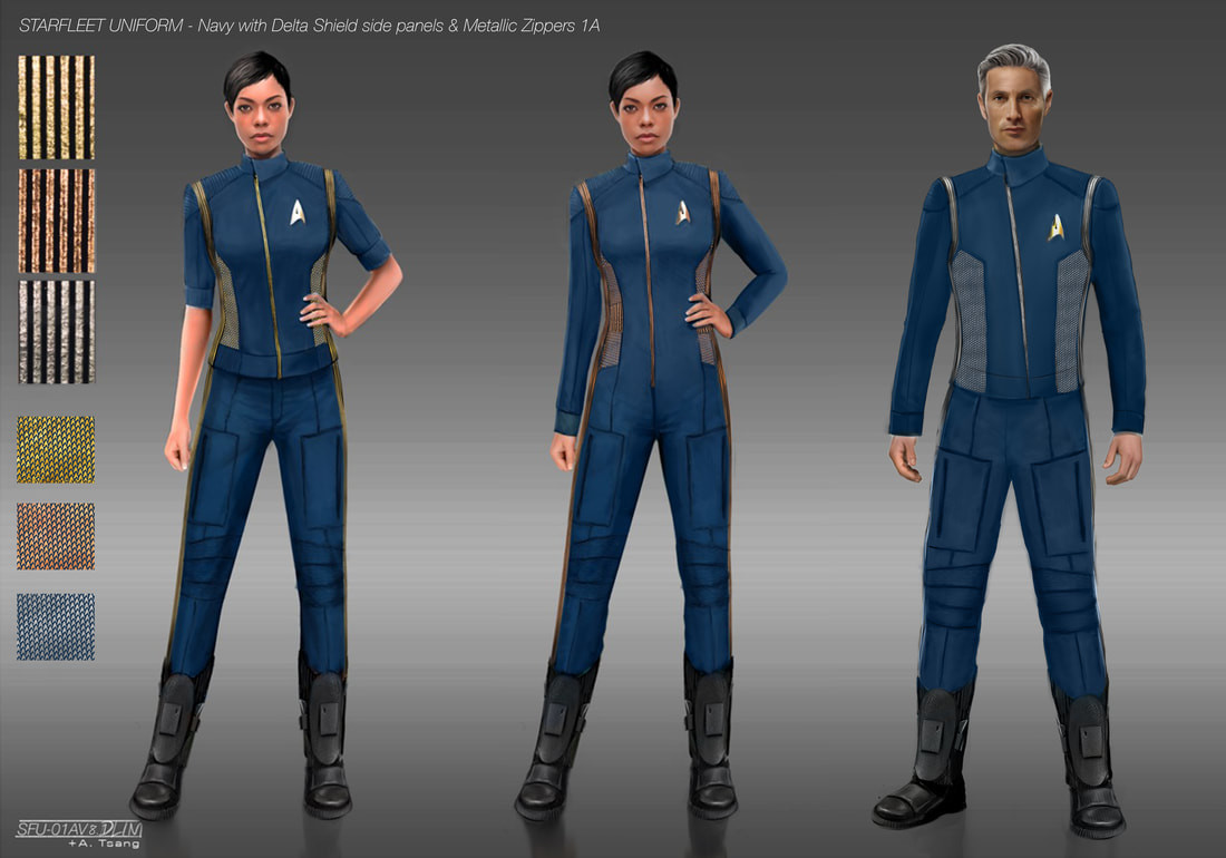 Star Trek Discovery Costumes S1
