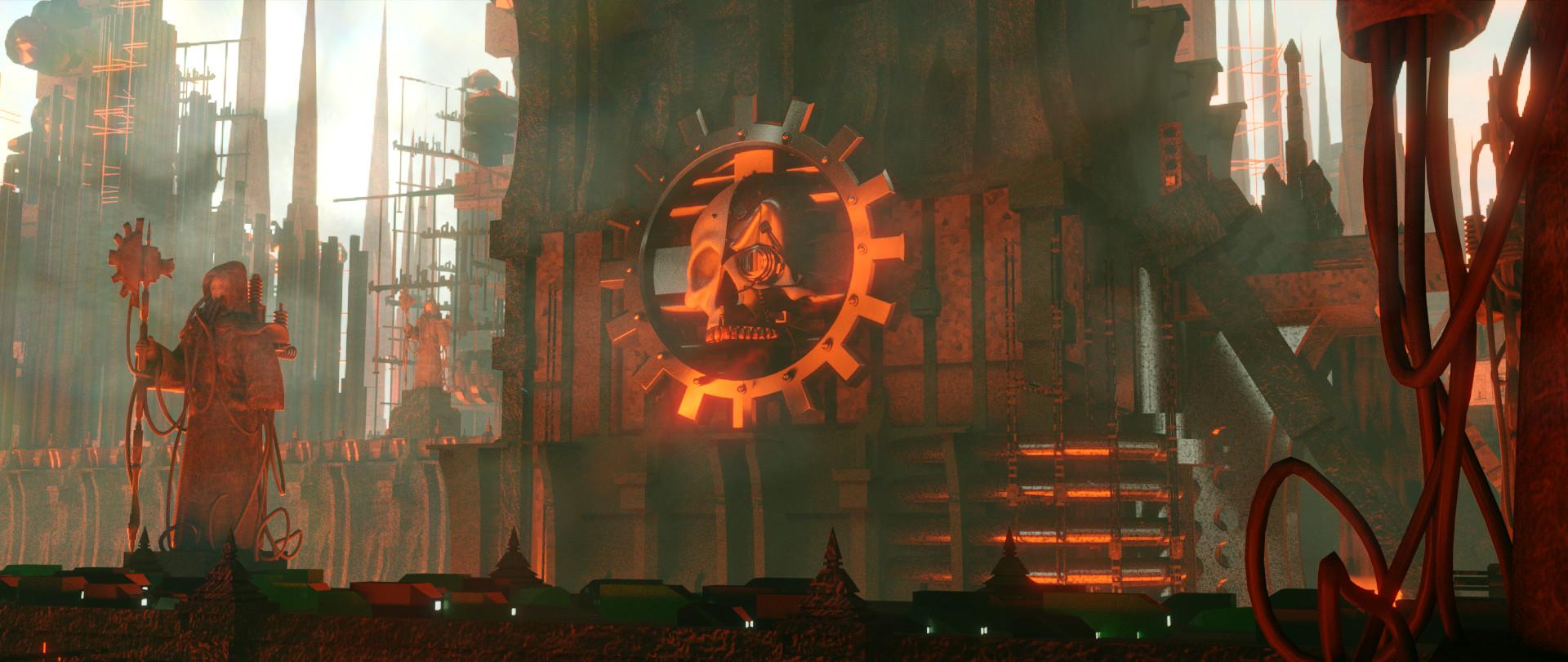 Michael Arenander - Mechanicus Forge World: Warhammer 40,000