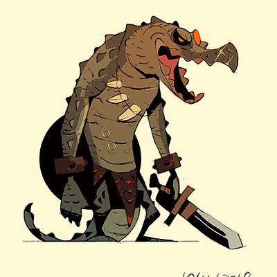 Satoshi matsuura 2018 10 11 crocodile warrior s