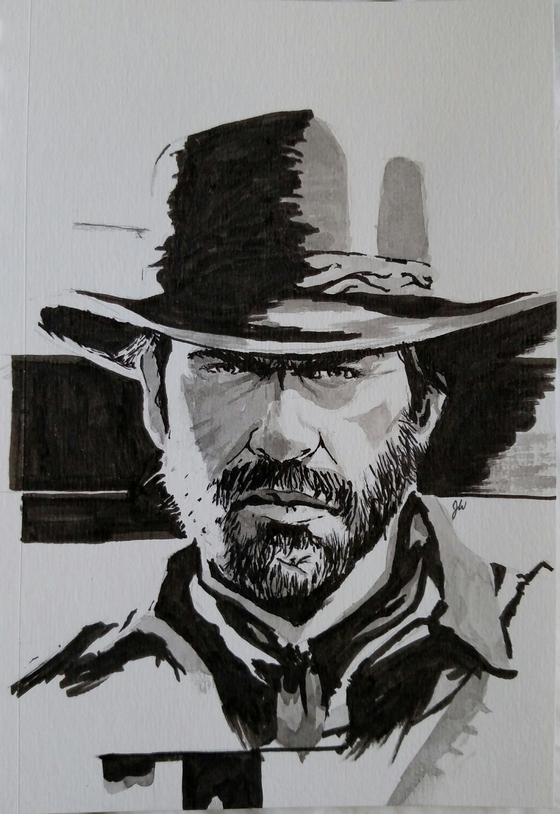 How To Draw Arthur Morgan