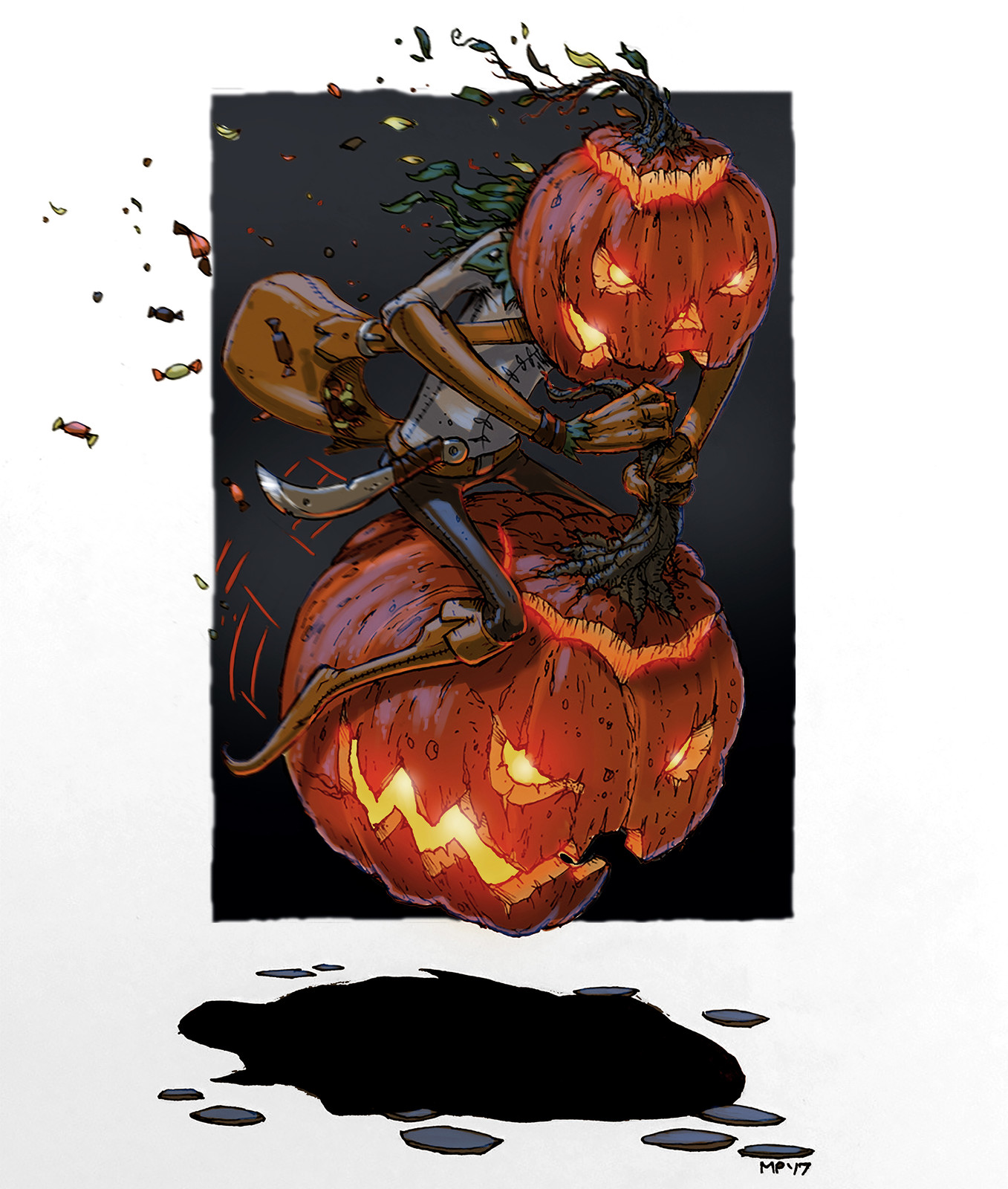 Pumpkin Rider!