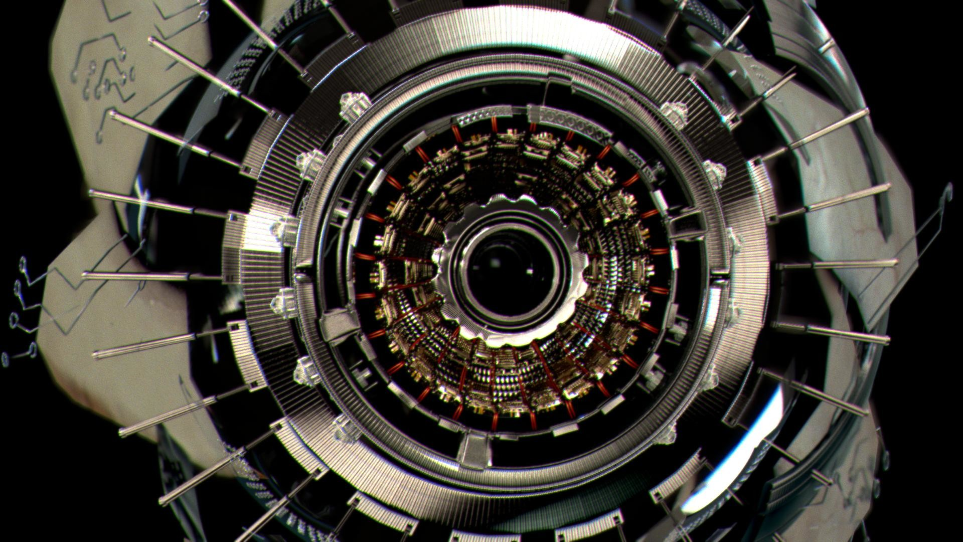 mechanical eye, did at mill few years ago, verizon spot